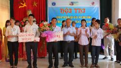 Hội thi Tuyên truyền viên giỏi tại cộng đồng về nhà tiêu hợp vệ sinh và rửa tay bằng xà phòng tại huyện Ý Yên tỉnh Nam Định