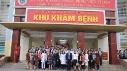 Tham quan mô hình bệnh viện Xanh-Sạch-Đẹp tại Bệnh viện Đa khoa tỉnh Hà Tĩnh
