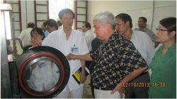 Cục Quản lý môi trường y tế tổ chức Lớp Huấn luyện an toàn lao động, vệ sinh lao động cho cán bộ lãnh đạo, quản lý ngành y tế tỉnh Nghệ An
