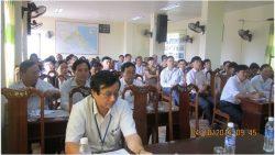 Cục Quản lý môi trường y tế tổ chức Lớp Huấn luyện an toàn lao động, vệ sinh lao động cho cán bộ lãnh đạo, quản lý ngành y tế tỉnh Hà Tĩnh