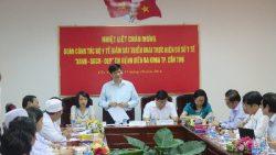 Đoàn công tác Bộ Y tế làm việc tại thành phố Cần Thơ