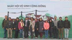 Ngày Hội vệ sinh cộng đồng tại Tuyên Quang năm 2017