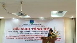 Hội nghị tổng kết công tác an toàn, vệ sinh lao động tại các cơ sở y tế trực thuộc Bộ