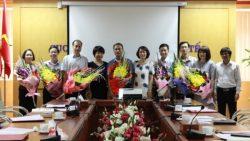 Lễ công bố Quyết định thành lập các chi bộ thuộc Đảng bộ cơ sở Cục Quản lý môi trường y tế