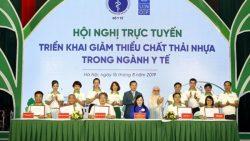 Hội nghị trực tuyến triển khai giảm thiểu chất thải nhựa ngành Y tế