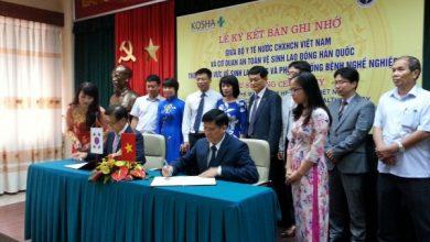 Lễ ký kết Biên bản ghi nhớ hợp tác kỹ thuật giữa Bộ Y tế Việt Nam và Cơ quan An toàn vệ sinh lao động Hàn Quốc (KOSHA)