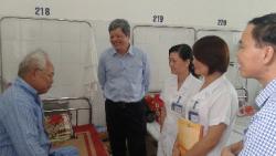 Đoàn công tác của Cục Quản lý môi trường y tế kiểm tra công tác quản lý chất thải y tế và kế hoạch triển khai cơ sở y tế Xanh- Sạch- Đẹp tại tỉnh Cao Bằng