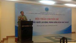 Hội thảo chuyên đề về quản lý sức khỏe người lao động, phòng chống bệnh nghề nghiệp