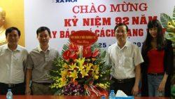 Cục Quản lý môi trường y tế chúc mừng các cơ quan báo chí nhân dịp kỷ niệm 92 năm Ngày Báo chí cách mạng Việt Nam (21/6/1925 – 21/6/2017)
