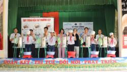 """Hội nghị phát động triển khai mô hình Cải thiện vệ sinh môi trường, phòng chống dịch dựa vào cộng đồng hưởng ứng """"Phong trào vệ sinh yêu nước nâng cao sức khỏe nhân dân"""" tại tỉnh Thái Bình"""