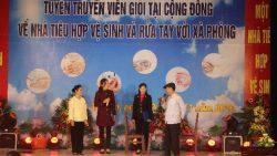 Sở Y tế tỉnh Ninh Bình tổ chức Hội thi tuyên truyền viên giỏi tại cộng đồng về nhà tiêu hợp vệ sinh và rửa tay với xà phòng hưởng ứng Ngày nhà Vệ sinh thế giới 19/11