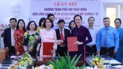 Lễ ký kết Chương trình phối hợp hoạt động giữa Cục Quản lý môi trường y tế và Công đoàn Y tế Việt Nam
