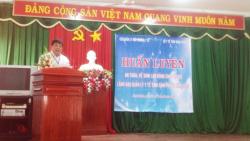 Huấn luyện An toàn, vệ sinh lao động cho cán bộ lãnh đạo, quản lý y tế của các cơ sở y tế trên địa bàn tỉnh Bình Phước