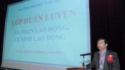 Huấn luyện an toàn, vệ sinh lao động cho cán bộ viên chức trường Đại học Y Hà Nội