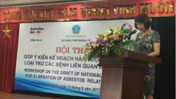 """Cục Quản lý môi trường y tế- Bộ Y tế tổ chức hội thảo """"Góp ý Kế hoạch hành động quốc gia loại trừ các bệnh liên quan đến amiăng"""""""