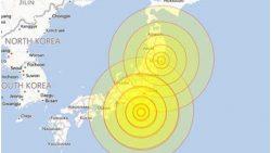 30 trận động đất rung chuyển đảo Nhật Bản