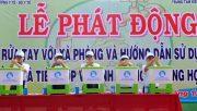 Lễ phát động chiến dịch truyền thông rửa tay với xà phòng và hướng dẫn sử dụng, bảo quản nhà tiêu hợp vệ sinh trong trường học tại tỉnh Long An