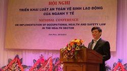Hội nghị quốc gia triển khai Luật An toàn, vệ sinh lao động ngành y tế