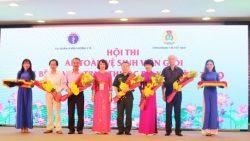 Hội thi an toàn vệ sinh viên giỏi các bệnh viện trực thuộc Bộ y tế năm 2019