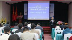 Hội thảo Chia sẻ kinh nghiệm triển khai mô hình Quản lý nước sạch và vệ sinh môi trường trong bệnh viện (Wash)