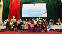 Công đoàn Cục Quản lý môi trường y tế tham dự Hội thi cắm hoa nghệ thuật