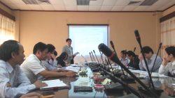 Họp Ban soạn thảo Thông tư liên tịch về quản lý chất thải y tế