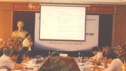 Hội nghị phổ biến tài liệu hướng dẫn kỹ thuật về Quản lý chất thải y tế