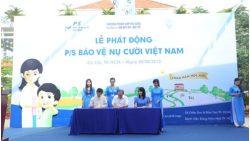 Tưng bừng lễ phát động chương trình P/S bảo vệ nụ cười Việt Nam