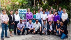 Chương trình giới thiệu sản phẩm của tổ chức phát triển Hà Lan SNV và Akvo : trình bày các kết quả tăng cường mở rộng bản đồ phân bổ nước
