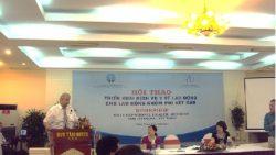 Hội thảo triển khai dịch vụ y tế lao động cơ bản cho nhóm lao động khi kết cấu