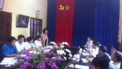 Kiểm tra liên ngành công tác đảm bảo chất lượng nước ăn uống, sinh hoạt trên địa bàn tỉnh Hà Nam.
